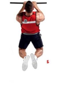 Как накачать мышцы спины на турнике узким хватом